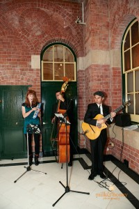 Sydney Party band SFC gypsy jazz trio